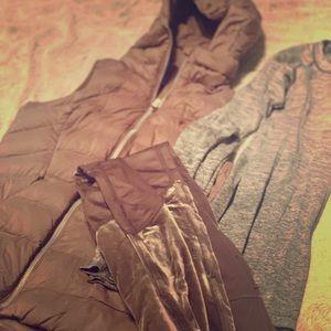 LULULEMON NWOT Purple Down Vest